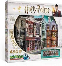 Harry Potter Diagon Alley 450 Piece 3D Wrebbit Puzzle - New