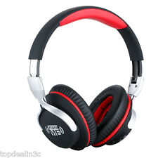 DJ Style Stereo Over-Ear Foldable Wireless Bluetooth Headphone Headset with Mic