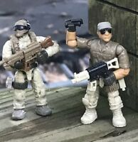 Mega 06825 Call of Duty Desert Troopers & Legacy Heroes CPC67 Figures Lot 5