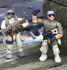Mega Bloks 06825 Call of Duty desierto soldados tropa figuras # 1 &3