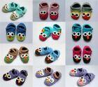 Wholesale Lot 10 Knit Cotton Newborn Baby Child Kids Owls Shoes Photo Prop Shoes
