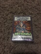 Sealed CCG Warlord Saga of the Storm starter deck - Elf Warlord.