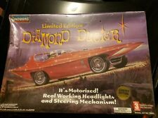 Lindberg 1:12 Diamond Duster Ltd Edition Plastic Model Kit With Electric Motor.