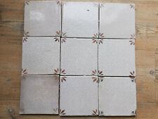 Antike Holländische Delft Fliesen Kachel Tile, 9 Stück,
