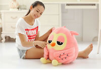 Big plush Owl Lovely Giant Large Stuffed Soft Plush Toy Doll Pillow Gift 50CM