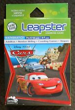 Leapster 1 & 2 DISNEY PIXAR CARS 2 Mathematics Learning Game Leap Frog