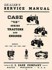 Case JI VA Mode VAC VAH VAO VAE Series Tractor Dealers Service Shop Manual