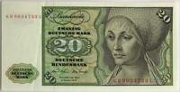 ALLEMAGNE - 20 MARK (1970) - Billet de banque (SPL)