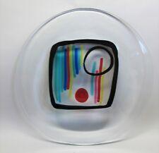 "Large 24"" Signed Italian Art Glass Plaque LIVIO SEGUSO Signed & Dated 1992"