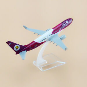 1X Airplane Model Alloy Aircraft Thai NOK Air Boeing 737 F Model Collection