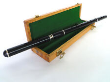 B - STOCK CLEARANCE TRADITIONAL IRISH KEYLESS FLUTE WITH PRESENTATION CASE - BLA