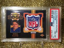 Doug Flutie Buffalo Bills Pres Choice Game Used Worn NFL Shield Jersey PSA 1/1