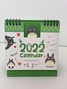 My neighbour Totoro 21-2022 Desktop Calendar Home Office  planner Christmas gift