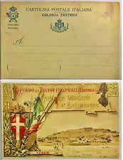 114) Cartolina 4 Batt. Fanteria Indigeni Eritrea Regio Corpo Truppe Coloniali