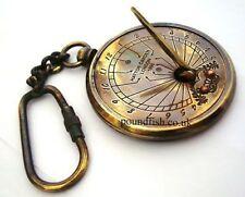 Sundial Key Chain – Brass Pocket Sundial Key Chain