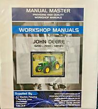 John Deere 6230 7230 Workshop Manual Fully Frinted Free Delivery