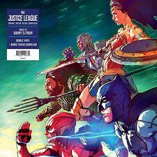 Justice League ORIGINAL MOVIE SOUNDTRACK Gatefold DANNY ELFMAN New Vinyl 2 LP