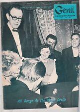 Genii The Conjurors' Magazine, November 1966, Magic Castle Cover
