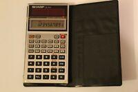 Vintage Sharp El-545 el 545 solar cell scientific calculator tested