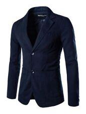 Completi e abiti sartoriali da uomo casual blu regolare
