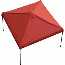 Ozark Trail 10'x10' Gazebo(replacement top only, Canopy frame not included) Red