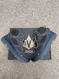 Vasque Breeze LT GTX Hiking Boots Size US 11.5 Men's Beluga Lime Green