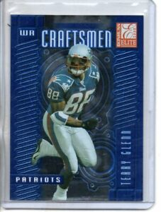 2000 DONRUSS ELITE TERRY GLENN CRAFTSMEN #rd 2500
