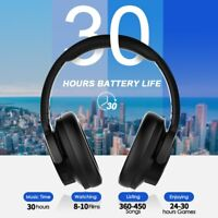 Mpow H16 Bluetooth Over Ear Noise Cancelling Headphones Hi-Fi Deep BassHeadset F
