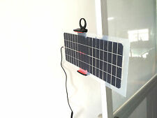 10.5 Watt 12v mini Solar  charger system cable & USB cable 5v  with solar holder