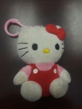"Sanrio Hello Kitty Plush Clip-On Keychain 3.25"" Vintage ?"