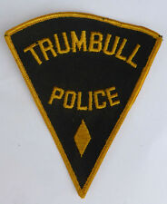 Patch -- Trumbull Police --