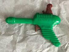 VINTAGE  RADAR GUN  SPACE TOY  CLICKER  C. 1950'S  HARD PLASTIC  GREEN