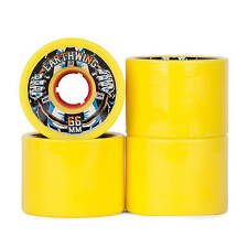 Earthwing Longboard Rollen Road Rage Cruiser Wheels 87A - 72mm - gelb