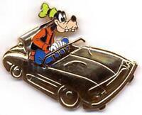 Disney Pin 38474 DLR Golden Vehicle Collection Autopia Goofy Disneyland 50th