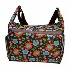 Tattopani Multicolored Shoulder Bag with Colorful Floral Patterns-(BAG-W-WW-09)