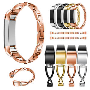 Bling Metal Wrist Band Replace Wristband Watch Strap Bracelet for Fitbit Alta HR