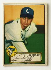 1952 Topps Baseball Card • Lou Kretlow • #42