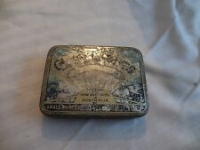 "Vintage City Lights Tobacco Tin Australia 4 1/4"" x 3 1/4"" x 3/4"" Empty"
