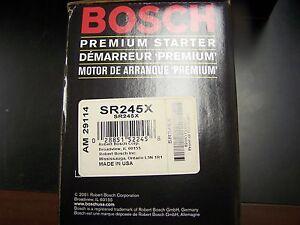 Bosch SR245X Reman Starter fits Nissan Pathfinder D21 Pickup Hardbody Hard body