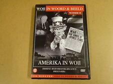 DVD / WOII - IN WOORD & BEELD NR.10 - AMERIKA IN WOII