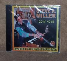 * SEALED CD STEVE A. MILLER - GOIN' HOME - RECORDED LIVE IN CEDAR RAPIDS IOWA
