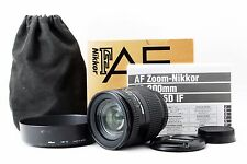Nikon Zoom NIKKOR 28-200mm f/3.5-5.6 D IF AF Lens w/hood HB-12 Boxed Japan #696
