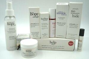 PHILOSOPHY Skin Care Eyes Cream,Booster Powder,Renewed Hope,Help Me Products