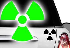 2x Biohazard gabber hardstyle OEM sticker voiture autocollant zombie JDM Atom nukleax