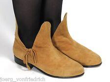Leder Vintage Stiefel Damenstiefel Ethno Boho Aladdin Haremsstil Muck 39,5 - 40