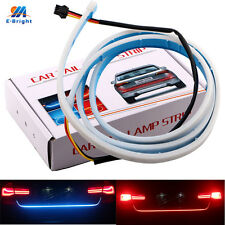 Car LED Tail Strip with Flow Turn Signal Indicator
