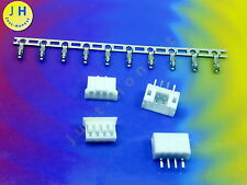 Kit 2x hembra + conector 4 polos + crimpkontakte Connector 2mm PCB precisamente #a1576