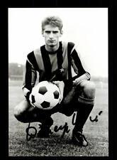 Angelo Domenghini Italia vice Weltmeister 1970 FOTO ORIGINALE FIRMATO + a 150300