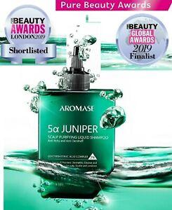 Aromase 5a JUNIPER Scalp Purifying Liquid Shampoo 260mL