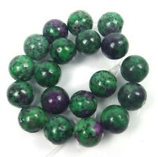 10mm Ruby Zoisite Round Beads (19)